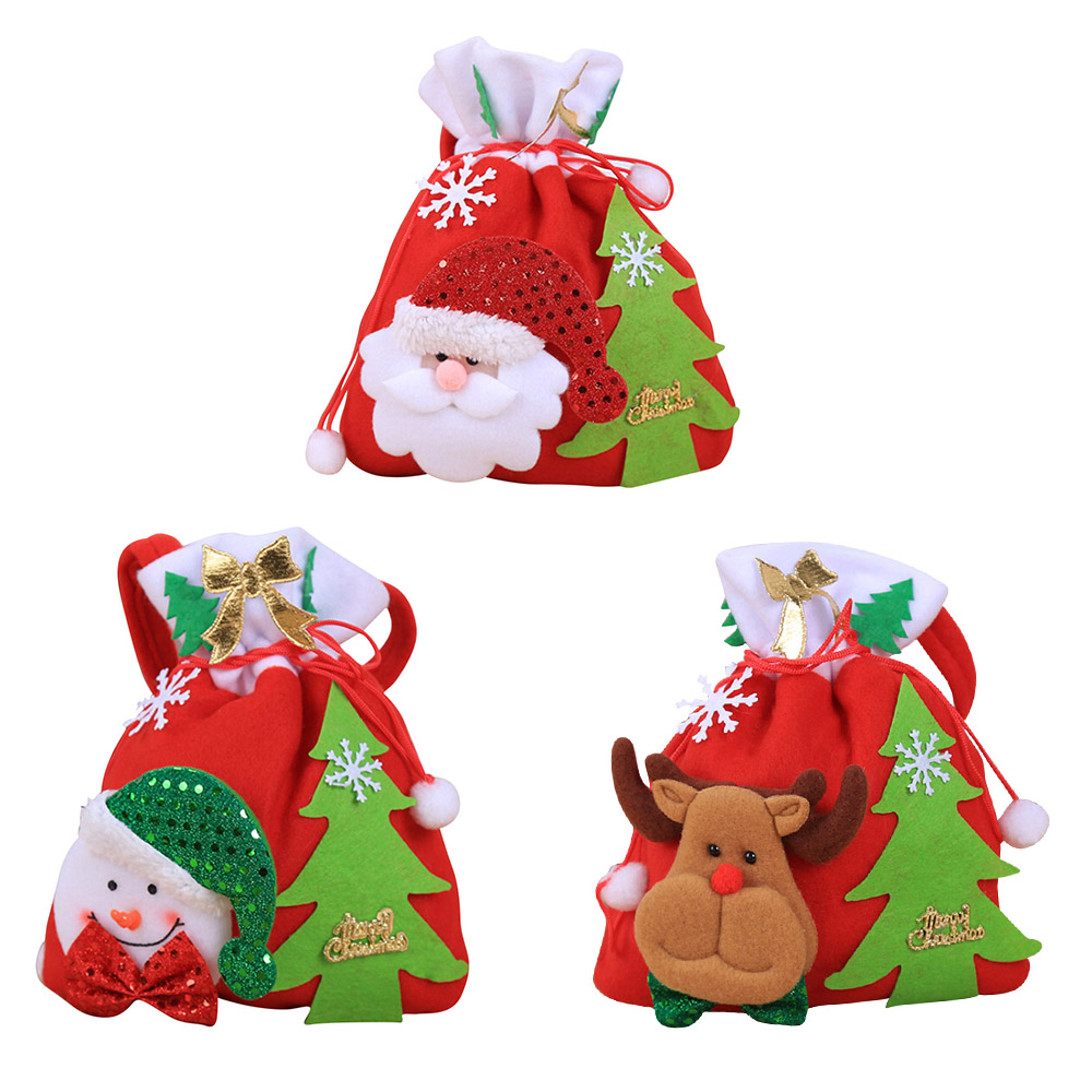Detail Feedback Questions about Merry Christmas Santa Sack Gift Presents  Holders Bag Christmas Tree Candy Bags Wine Stocking Bottle Gift Bag Xmas  Decoration ... f1e83b8fe540