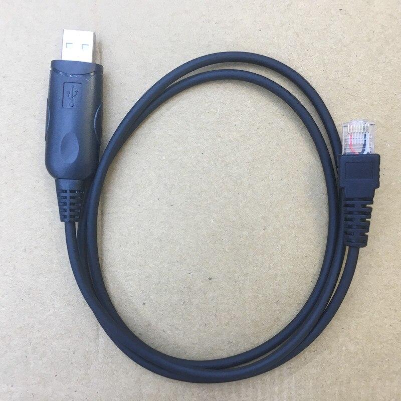 Câble de Programmation USB 8 broches pour ICOM IC-F110 F221 F121 F1721 F1810 F210 F221 etc voiture véhicule radios avec CD conducteur