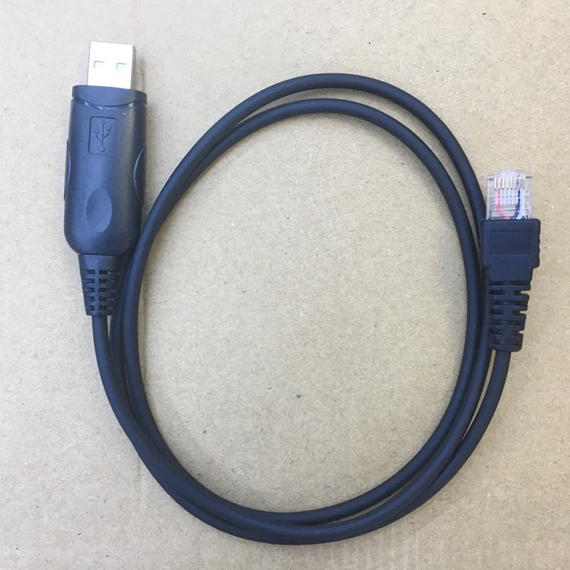 USB Programming Cable 8pins For ICOM IC-F110 F221 F121 F1721 F1810 F210 F221 Etc Car Vehicle Radios With CD Driver