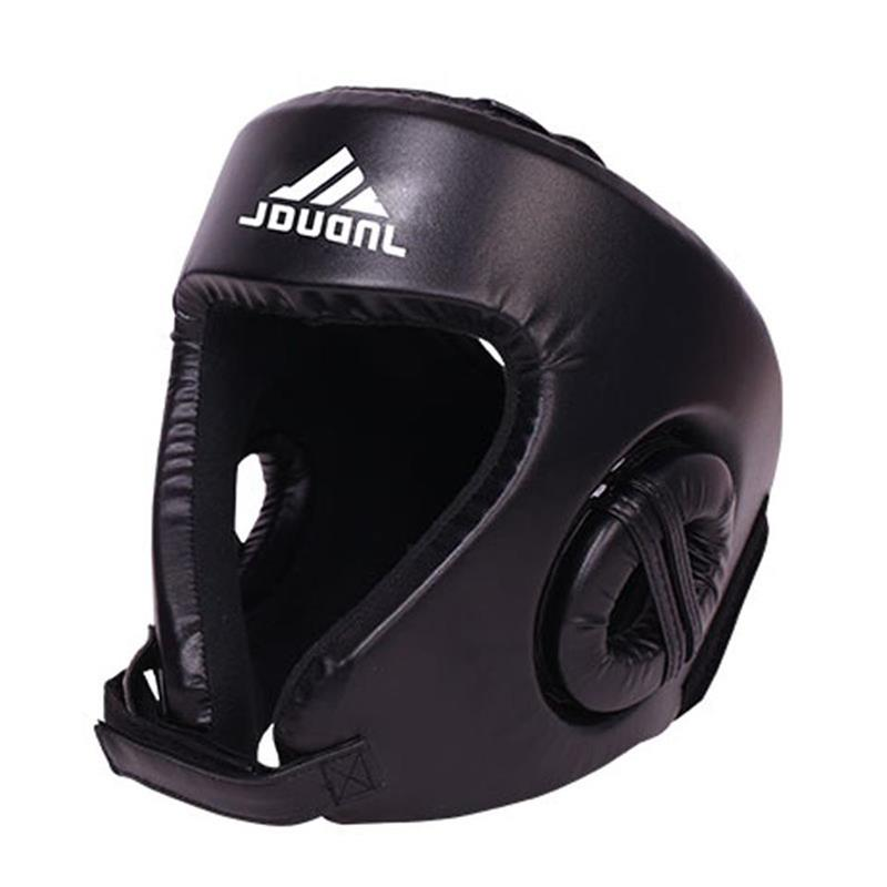 MMA Boxing Helmet Closed Type Muay Thai Boxing Head Guard Kick Boxing Head Brace
