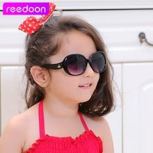 reedoon Vintage Kids Sunglasses Brand Sun glasses Children Glasses Cute Designer Fashion Oculos De Sol Infantil Hipster 1014