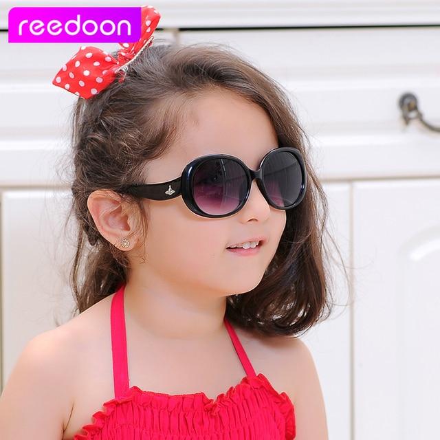 b106ed10c7 reedoon Vintage Kids Sunglasses Brand Sun glasses Children Glasses Cute  Designer Fashion Oculos De Sol Infantil