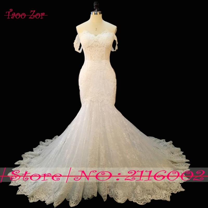 Amdml Vestidos De Novia Sweetheart Neck Mermaid rochie de nunta 2017 - Rochii de mireasa - Fotografie 2