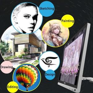 Image 4 - Графический мини монитор Bosto для рисования, волшебная Подставка для планшета для художника с водонепроницаемым экраном и стилусом без батареи, художественная перчатка подставка