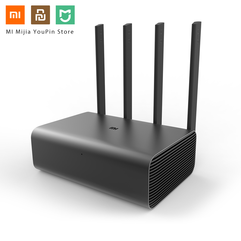 Original Xiaomi Mi Router Pro WiFi Repeater AC2600 2.4G/5GHz Dual Band APP Control Wireless Metal Body MU-MIMO Routers image