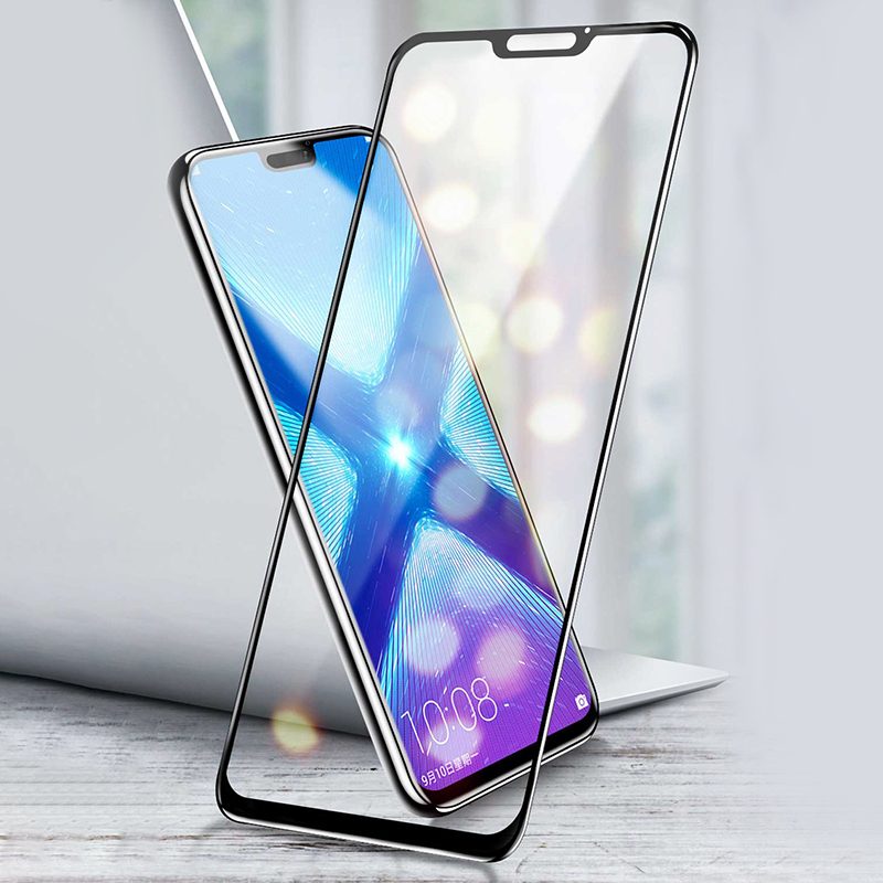 Tempered Glass For Huawei Honor 8X Glass Flim 9H Anti-Scratch Fully Cover Tempered Glass Film For Huawei 8X Max Protector Film