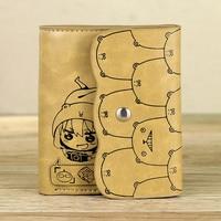 Free postage Japanese Anime Himouto! Umaru chan cos Doma Umaru Cartoo PU man woman fashion Leisure short Wallet