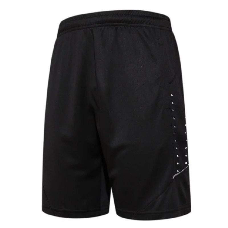 Quick Dry Mens Sports Basketball Shorts Elastic Waist Men Running Shorts with Zipper Pocket Reflective Stripe Jogging Shorts ...