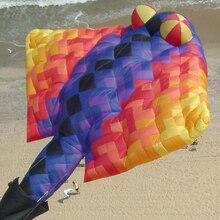 Brinquedos, мягкие, веселые, Заводские, vlieger cerf volant cometas pipa voadora, воздушные змеи для взрослых, воздушный змей, летающий, ветровка, ripstop koi fish, игрушки