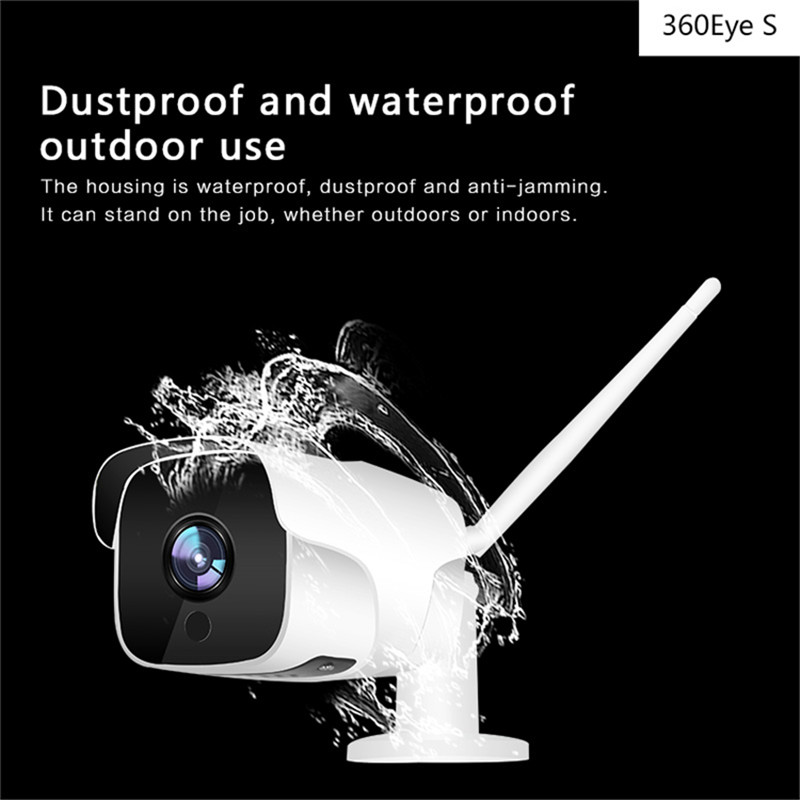 DAGRO 1080P outdoor waterproof wireless WiFi smart network camera HD night vision home monitoring head