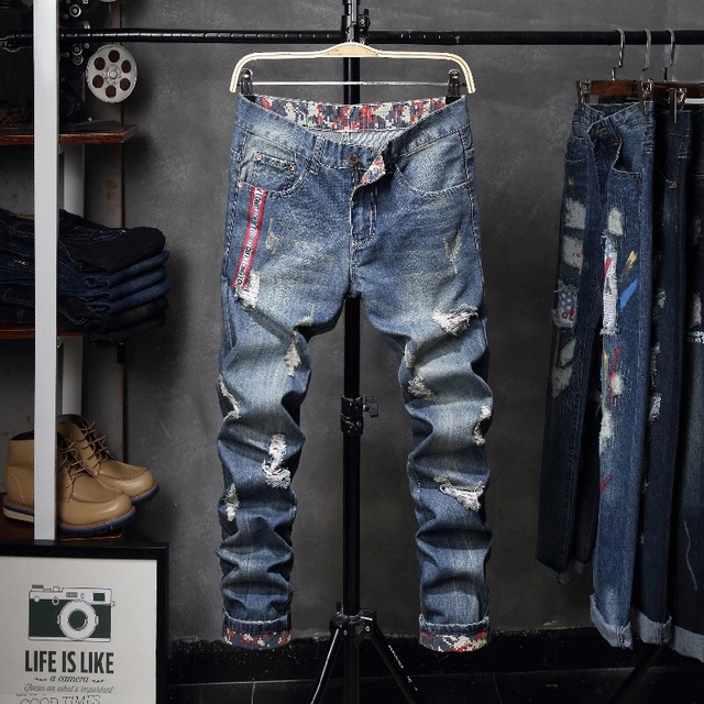 Young Gun Distressed Jeans 8