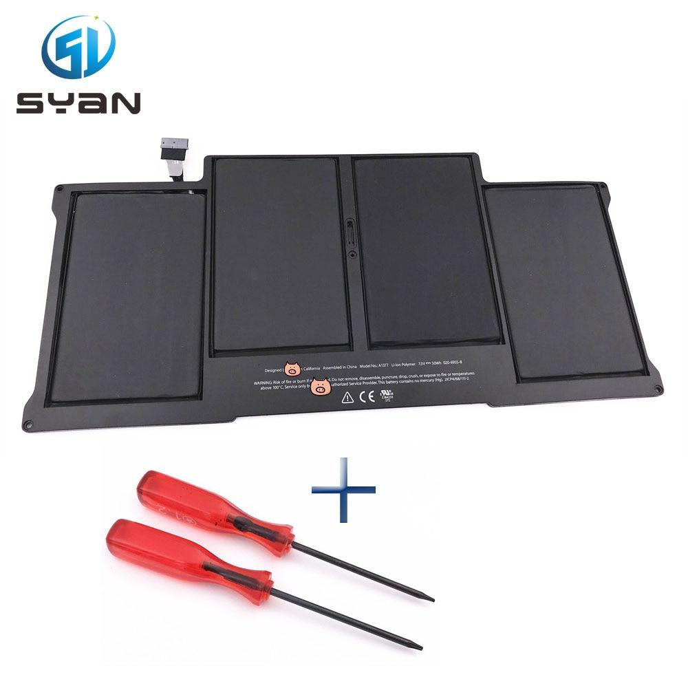 A1377 battery for font b Macbook b font Air 13 3 laptop A1369 Battery MC504 MC504