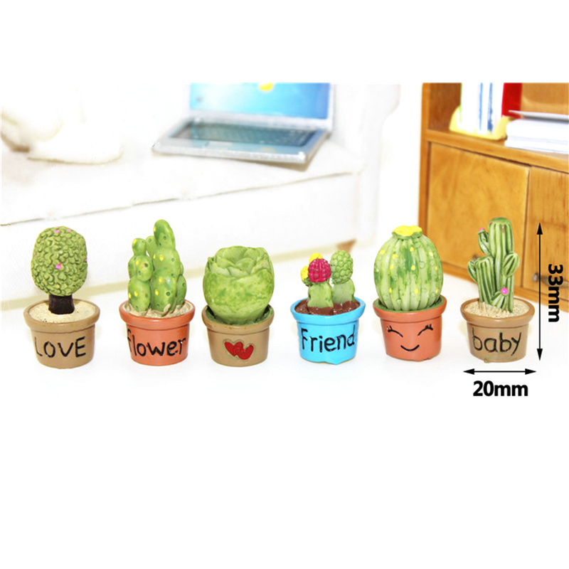 Us 4 27 5 Off Indah Lebih Daging Kaktus Pot Pot Miniatur Mainan Aksesoris Boneka Lucu Menghias Buatan Mini Vegetasi Bauble In Boneka From Mainan