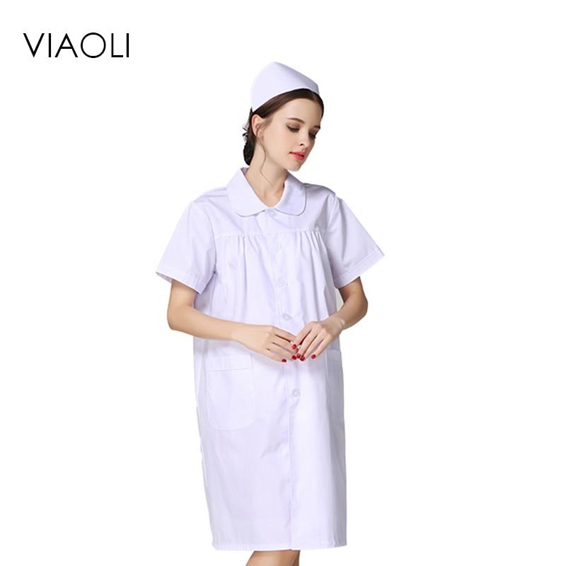 Nurses maternity clothes summer white radiation nurse pregnant women ...