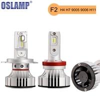 Oslamp 50w Pair H4 H13 Cree CSP Chips Hi Lo Beam Car LED Headlight Bulb 8000lm