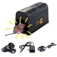 Behogar Electric Shock Mouse Mice Rat Rodent Trap Cage Killer Zapper Reject Rejector For Serious Pest Control EU US UK Plug