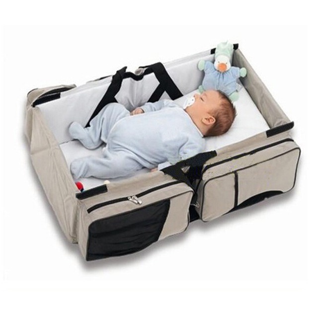 Multi-function portable Bed Travel Bed