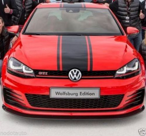 Car styling for car racing stripes hood roof trunk declas for gti vinyl sticker