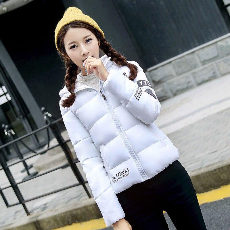 ФОТО Casaco Feminino Inverno Cotton Padded Parka Short Jacket Hooded Parkas Winter Jacket Women Autumn Coats Fashion DR1613