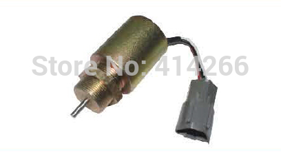 Wholesale Fuel shutdown stop solenoid valve 1751ES SA3627, 49874 for  223D engine,12V fuel shutdown solenoid valve 153es 2212480 sa 4269 12 12v for mitsubishi komatsu wa320 3 kubota