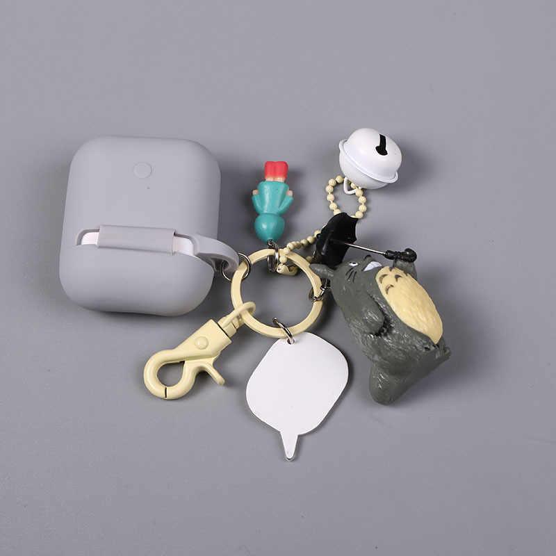 """Słodkie mamy """"Między nami, misiami"""" lalki brelok silikonowy bezprzewodowe Bluetooth etui na słuchawki AirPods pokrowiec pudełko moda breloki"""