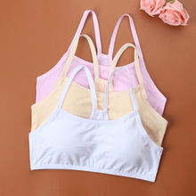 Sale Cotton Children Bra Young Teenagers Girl student Confortable Thin Underwear Summer Narrow Shoulder Strap Bras