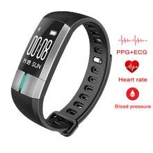 Смарт-браслеты G20 умный Браслет Фитнес Smart Band сердечного ритма ЭКГ Мониторы для IOS Android PK Xiaomi Mi band 2 huamei ID107