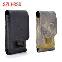 SZLHRSD Outdoor Phone Case For Blackview BV5800 Pro Universal Military Tactical Holster Belt Bag Waist For BlackBerry KEY2