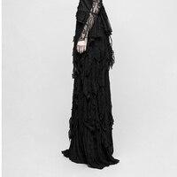 Панк рейв Готическая Великолепная Сексуальная Женская юбка винтажная кружевная модная юбка викторианские вечерние юбки в деловом стиле