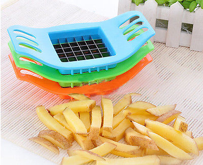 Potatoes Cutter Cut into Strips French Fries Tools Kitchen Gadgets Color Random