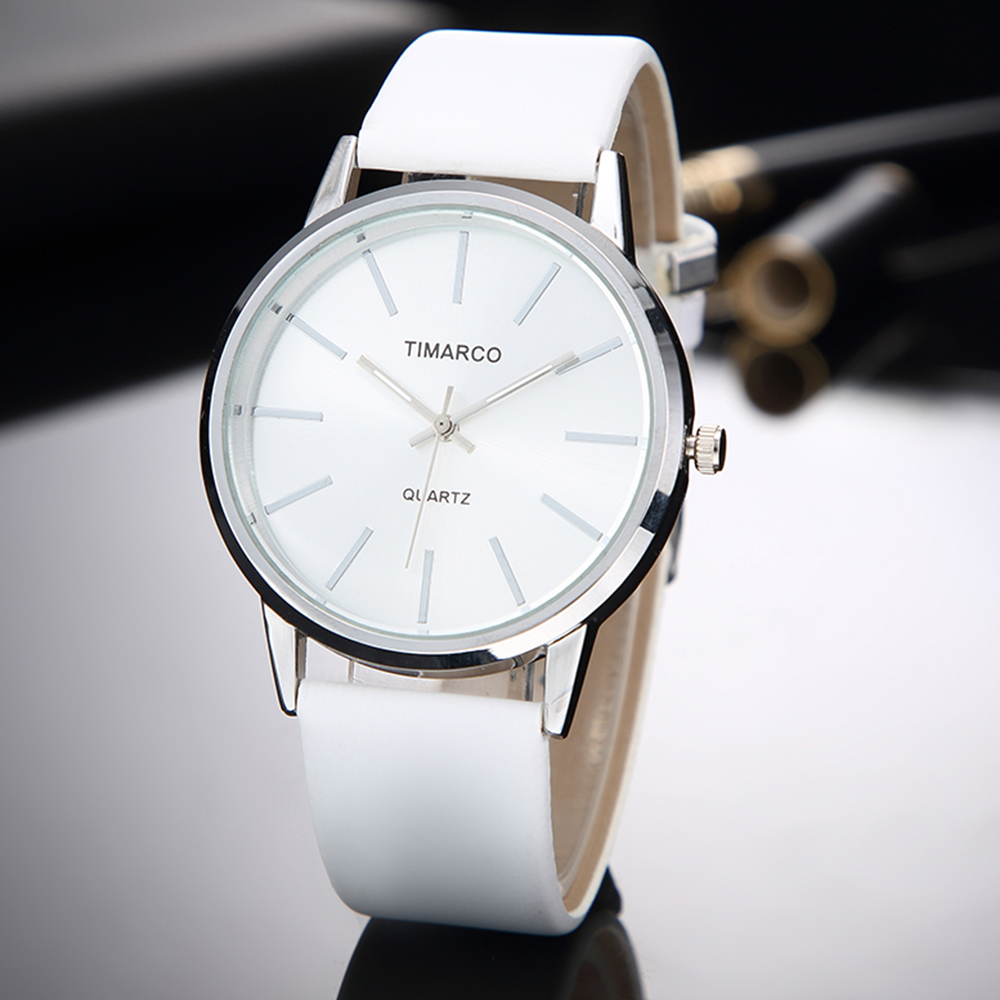 Fashion Women Watches Bayan Kol Saati Simple Casual White Woman Watch Ladies Wristwatch Zegarek Damski Female Clock Reloj Mujer