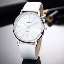 Fashion Women Watches Bayan Kol Saati Simple Casual White Wo