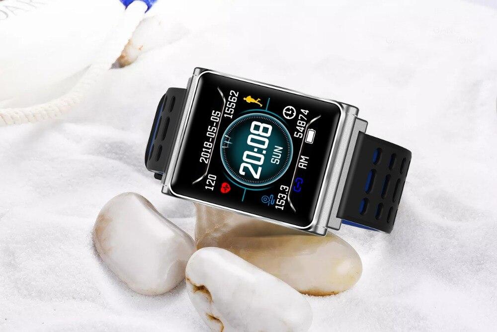Smart Watch Bracelet N98 Color Full Screen Waterproof Fitness Tracker Clock Wristband Heart Rate Monitor Pressure For Xiaomi IOS 22