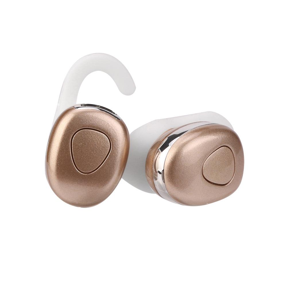 High Quality Twins Bluetooth Earphone True Wireless Stereo Earbud Sweatproof wireless sports bass earphone for Android IOS