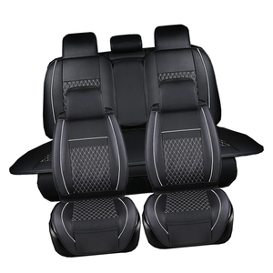 Image 2 - Leather Car seat covers set For Chevrolet CRUZE SAIL LOVE AVEO EPICA CAPTIVA Cobalt Malibu AVEO LACETTI Car Accessories styling