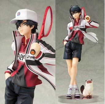 NEW Hot 23cm New Prince Of Tennis Ryoma Echizen Action Figure Toys Collection Christmas Gift With Box