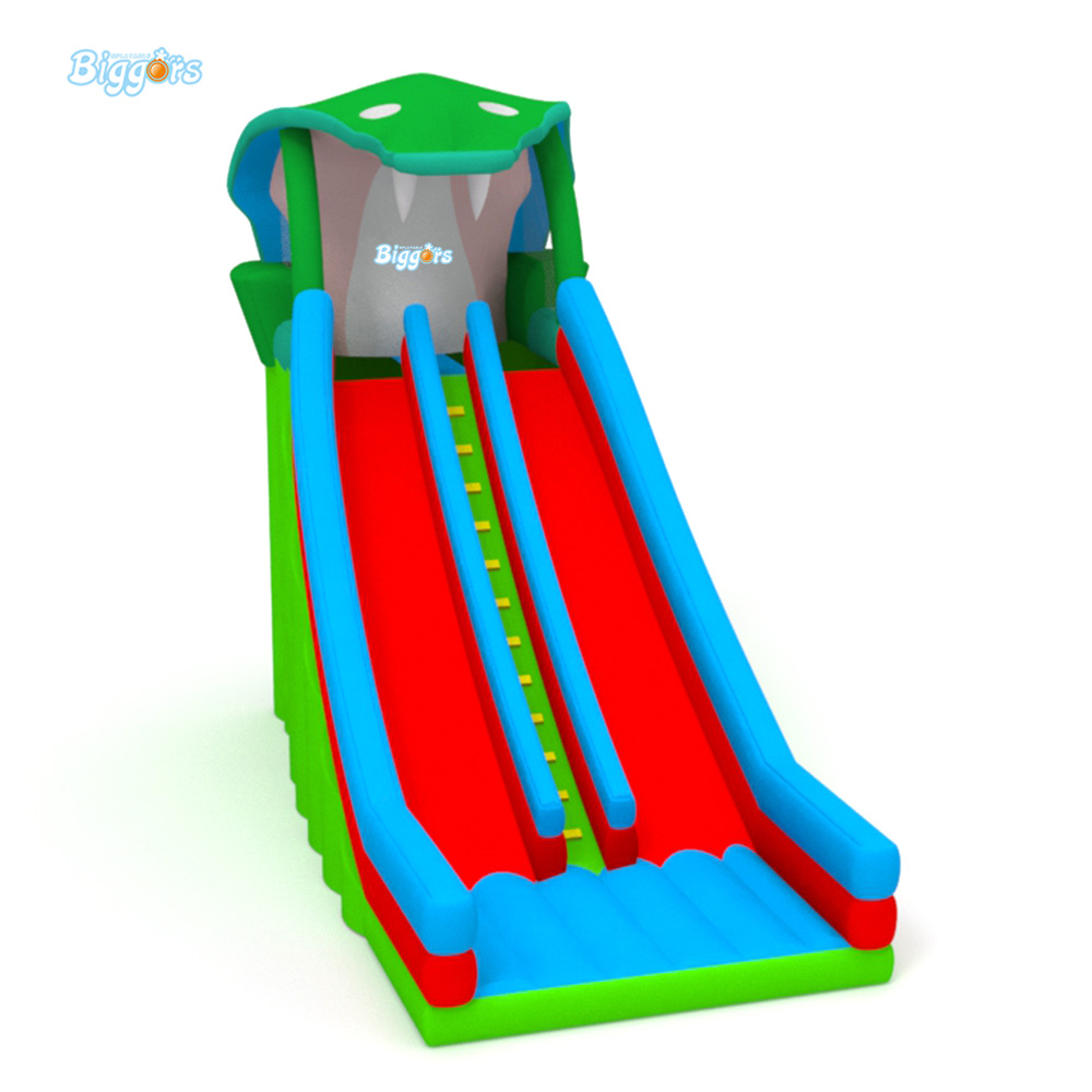 China Supplier Cheap Safe Inflatable Dual Slide Jumping font b Bouncer b font Slide For Sale