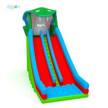China Supplier Cheap Safe Inflatable Dual Slide Jumping Bouncer Slide For Sale