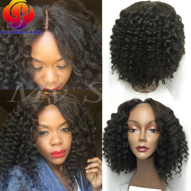 100 Indian Natural Hair Full Lace Wigs Curly Bob Hair Styles Lace