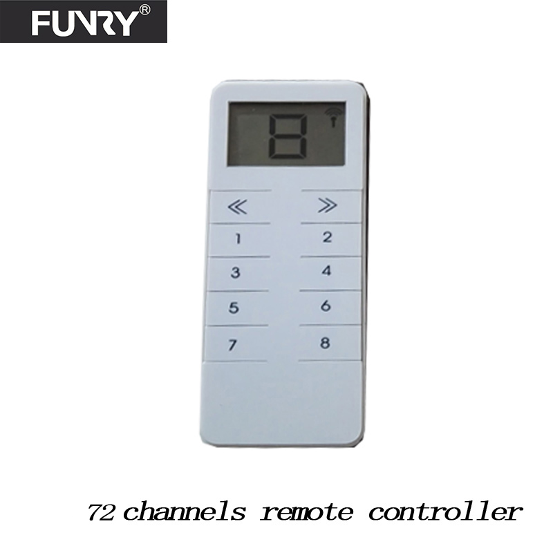 Funry   RF433  Light Switch Remote Controller,work With  Broadlink RM Pro And Sonoff Bridge ,one Can Control The Whole House