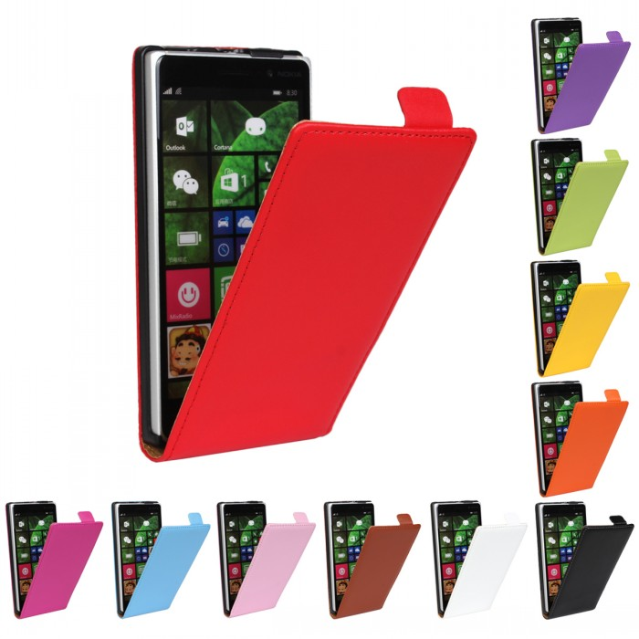 820 830 920 930 1020 Flip Leather Case For Nokia Lumia 925 s