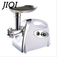 JIQI Multifunctional Home Electric Meat Grinder chopper Stainless Steel Sausage Stuffer Mincer Maker Kitchen Tool
