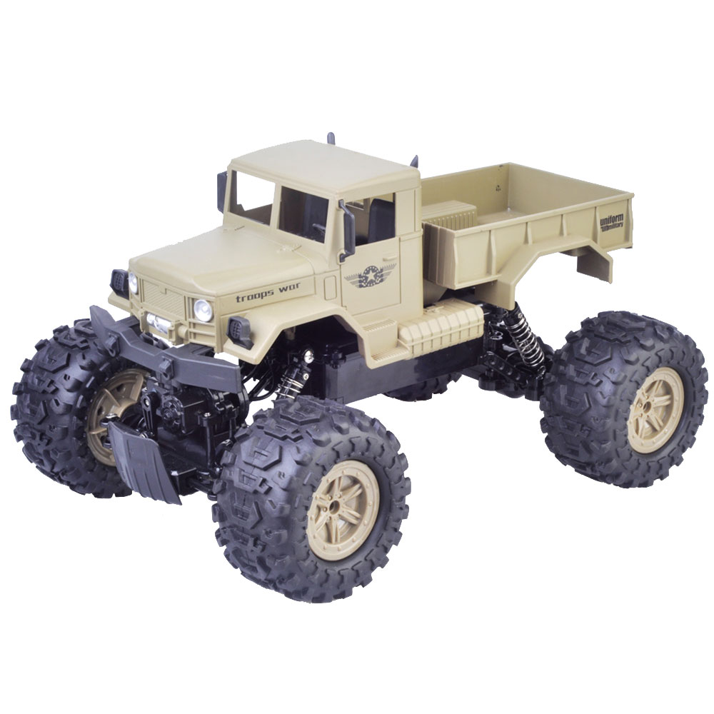 1:12 Scale Waterproof 4WD RC Crawler Off-Road Climbing Car Desert Car 2.4GHz Wireless Remote Control Toys Desert Truck Car RTR1:12 Scale Waterproof 4WD RC Crawler Off-Road Climbing Car Desert Car 2.4GHz Wireless Remote Control Toys Desert Truck Car RTR