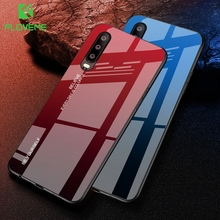 FLOVEME Tempered Glass Phone Case For Huawei