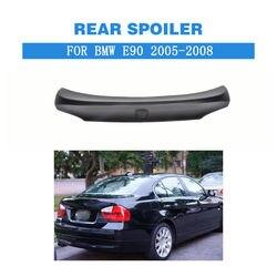 Tylny spoiler skrzydła bagażnika do BMW serii 3 E90 2005 2008 FRP niepomalowane czarne części do tuningu samochodów w Spoilery i skrzydła od Samochody i motocykle na