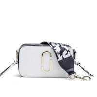 INTERESTINGBAG Women Camera Handbag Fashion Clutch Bag Shoulder Bag Leather Purses And Handbags Square Messenger Crossbody Bag