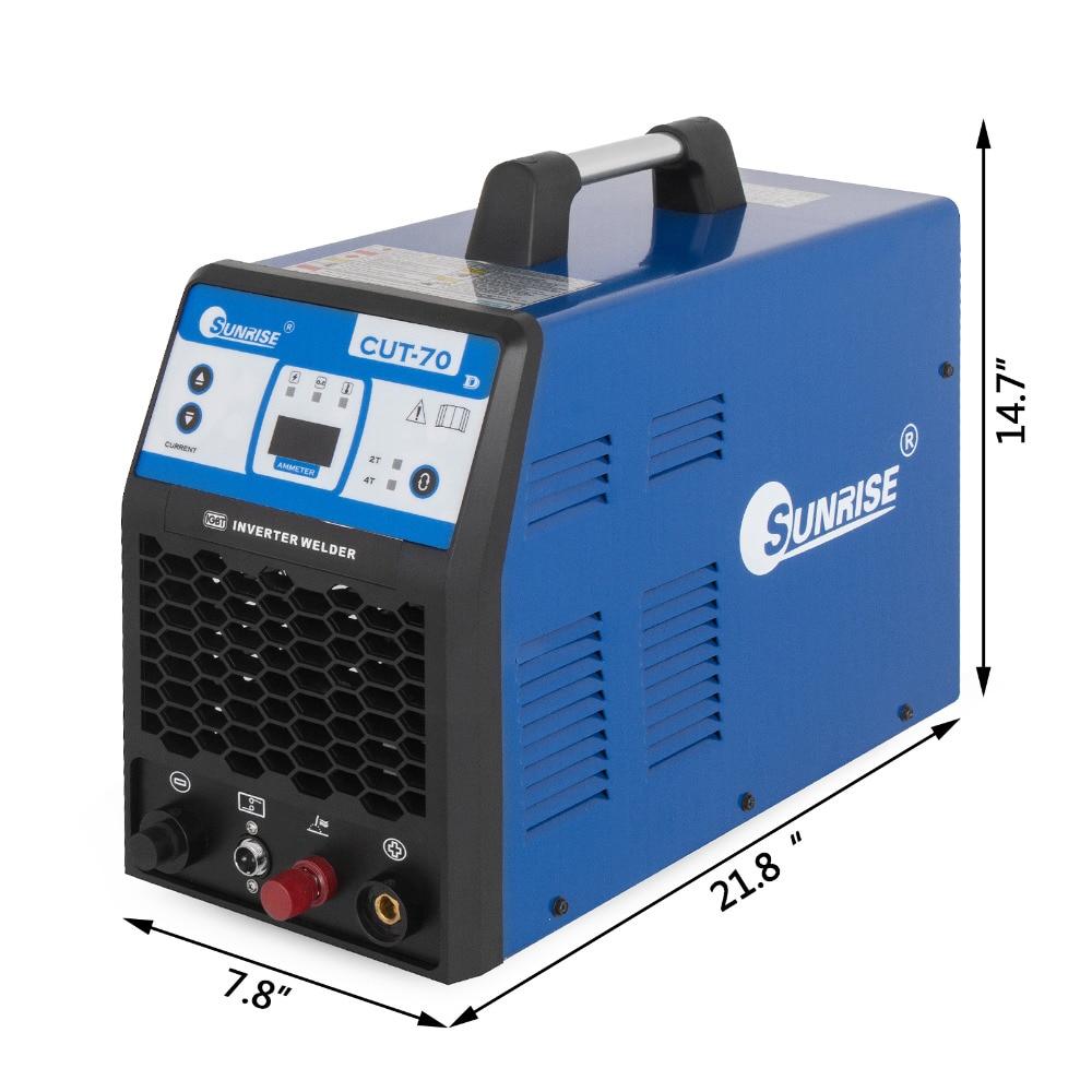 VEVOR PLASMA-70 Plasma Cutter 70A HF Inverter Jede Metallic Materialien Bis Zu 25mm