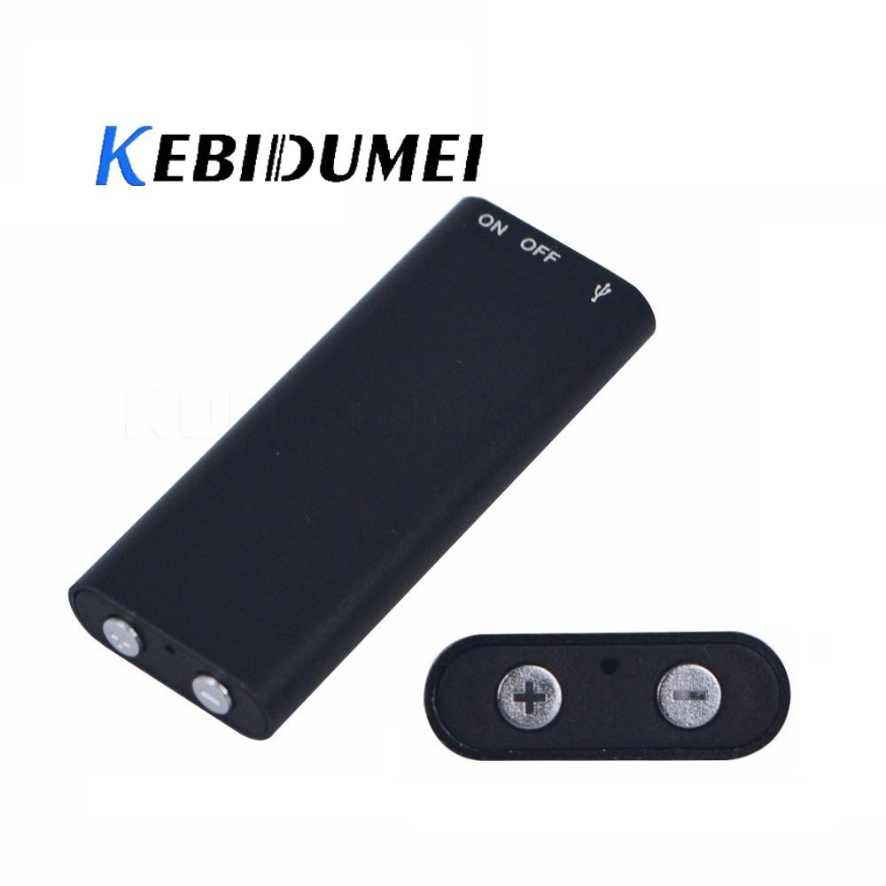 Digital Voice Recorder Motiviert Kebidumei 8 Gb Professionelle Stimme Recorder Digitale Audio Mini Diktiergerät Mp3 Spieler One-touch Aufnahme Für Metting Für Klasse