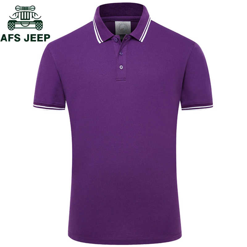 New 2018 Solid Color Summer Polo Shirts Men Cotton Short Sleeve Breathable Anti-Pilling Brand polos para hombre Plus Size S-4XL