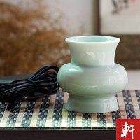 Taiwan celadon incense burner electronic charging portable electronic incense burner incense road